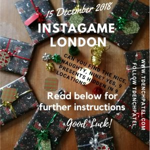 Instagame London 15 December 2018
