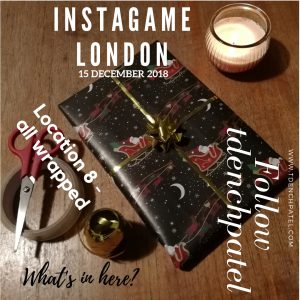 Location 8 all wrapped up Instagame London 2018