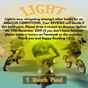 Light is now competing amongst other books for an Amazon competition